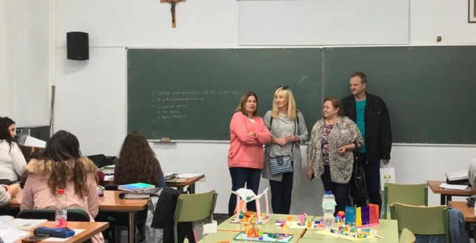 ERASMUS+ PROJEKTO STAŽUOTĖ MALAGOJE